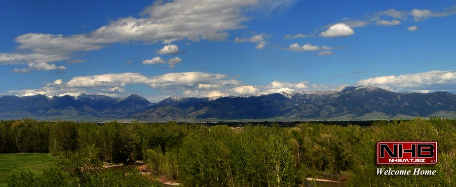 Mountains surrounding the Gallatin Valley