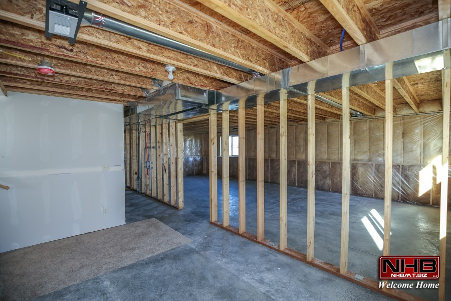 Unfinished Basement Bozeman